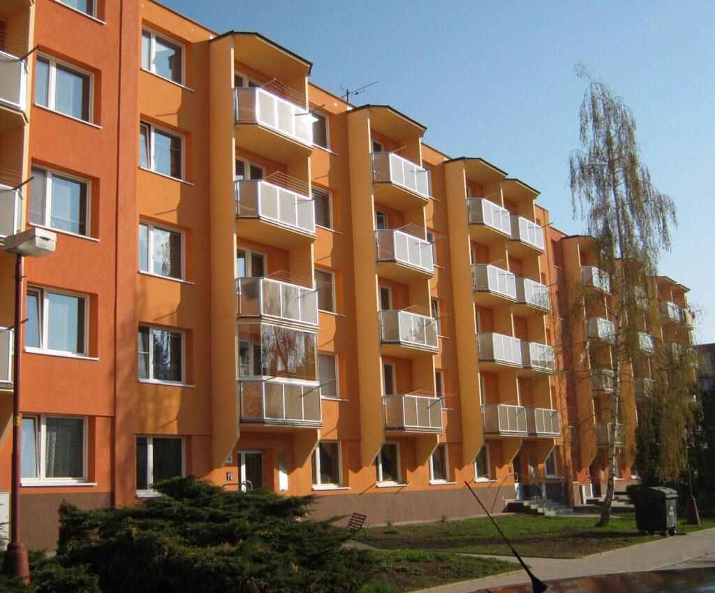 Bytové družstvo v Třebíči (zdroj DAČR)